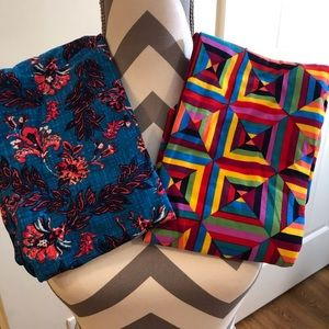 LuLaRoe OS Leggings Set of Two